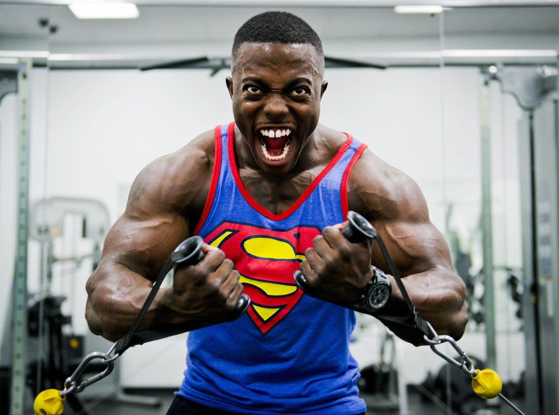 Oznaka męskości czyli biceps